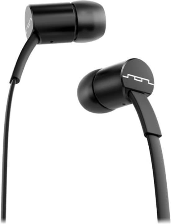 Jax Single Button - Nero Cuffie In-Ear SOL REPUBLIC 785300132149 N. figura 1