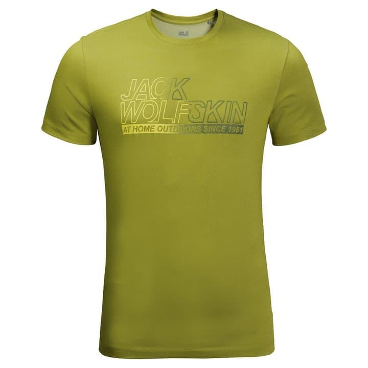 Ocean Herren-Kurzarmshirt Jack Wolfskin 465713800362 Farbe neongrün Grösse S Bild-Nr. 1