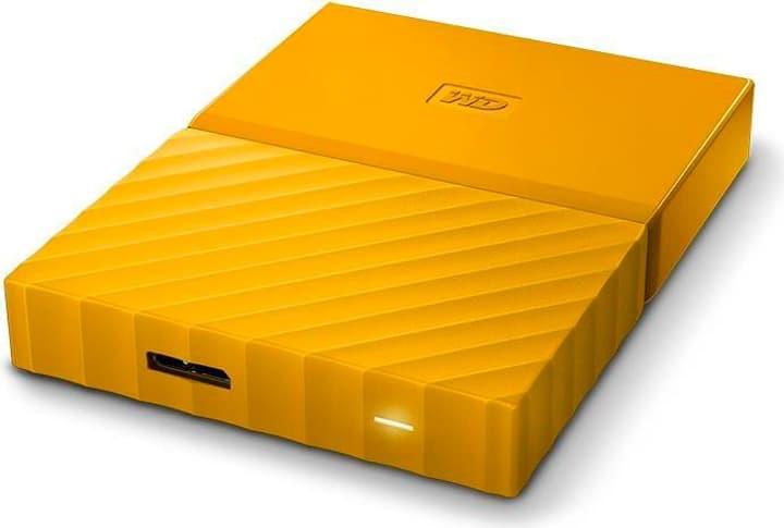 My Passport  2To jaune Disque dur externe Western Digital 785300140462 Photo no. 1