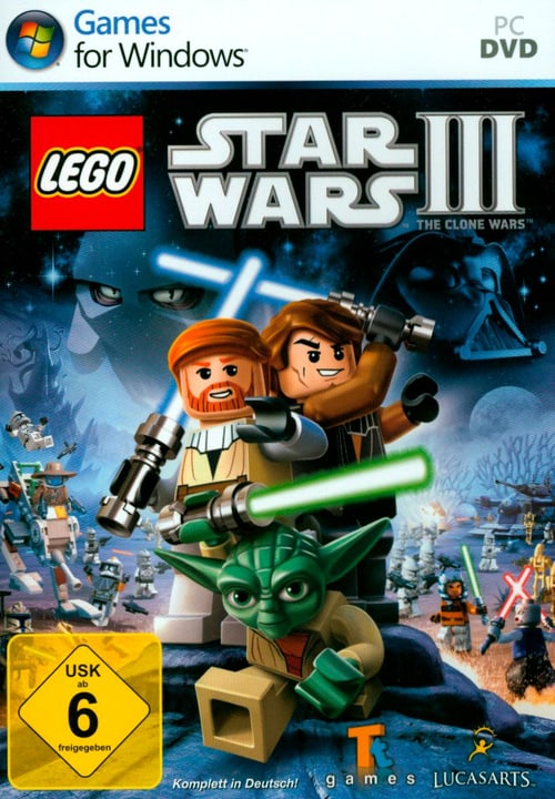 PC -  LEGO Star Wars III Fisico (Box) 785300121891 N. figura 1