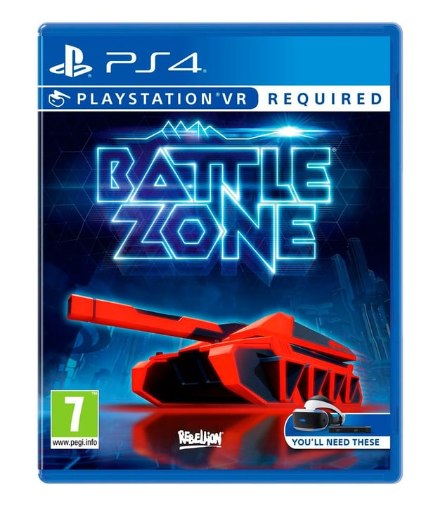 PS4 - Battlezone VR Fisico (Box) 785300121787 N. figura 1