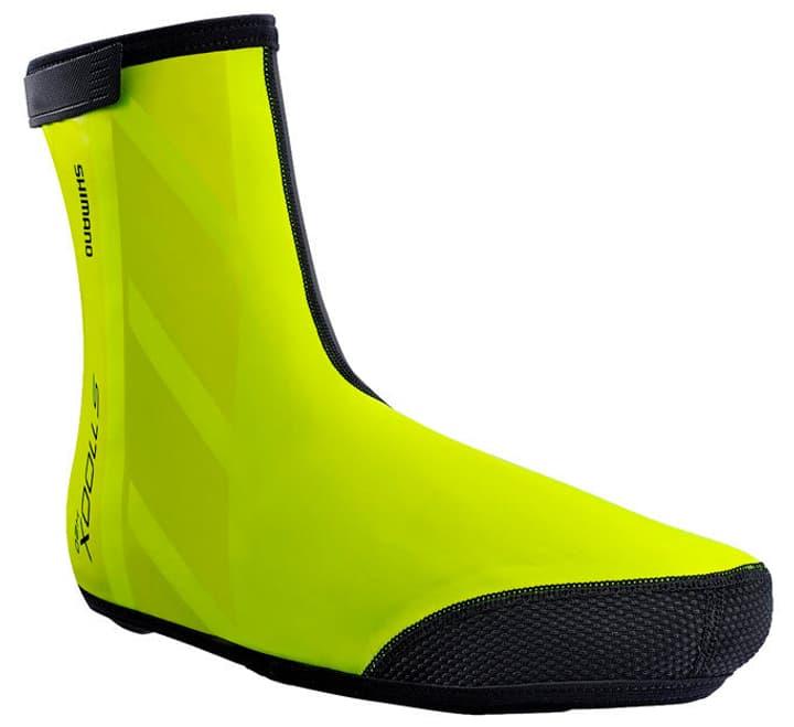 S1100X H2O Shoe Cover Unisex-Überschuh Shimano 461348000555 Farbe neongelb Grösse L Bild Nr. 1