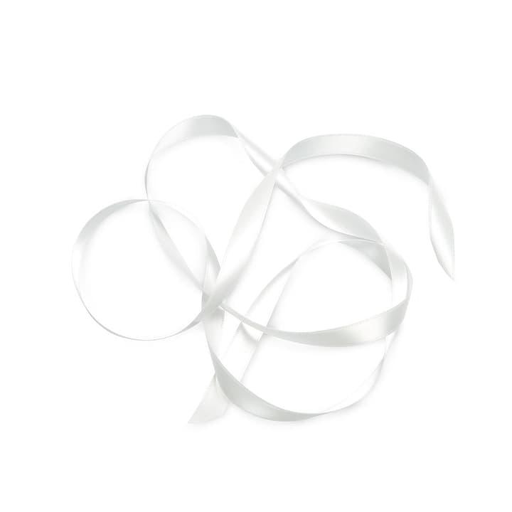 KIKILO Satinband 12m/15mm 386112200000 Grösse B: 1.2 cm x T: 1.5 cm x H: 0.1 cm Farbe Offwhite Bild Nr. 1