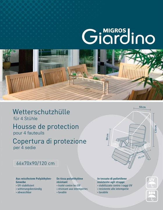 Copertura protezione per 4 poltrone 753711400000 N. figura 1