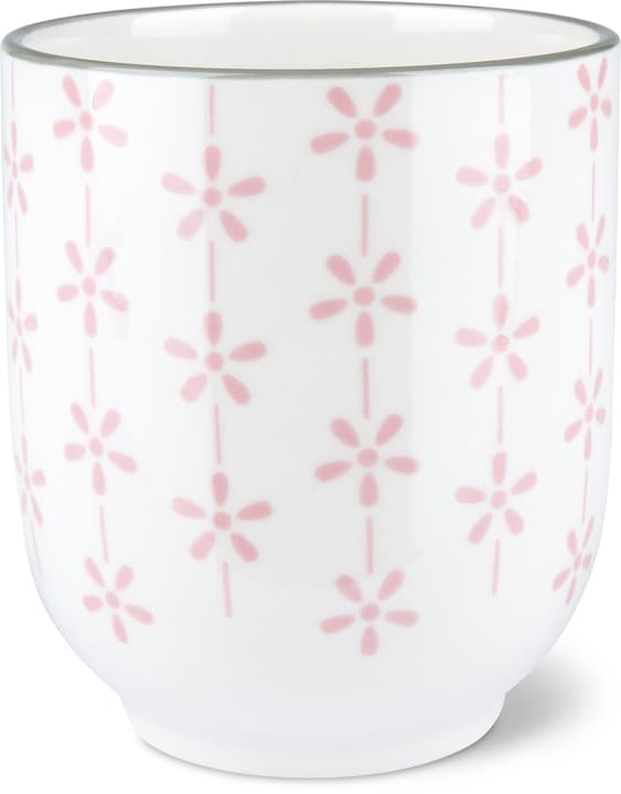 Tasse de thé Cucina & Tavola 703617100036 Couleur Rose, Blanc Dimensions H: 8.5 cm Photo no. 1