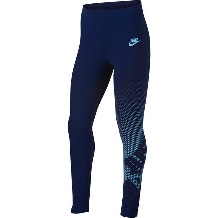 Sportswear Graphic Leggings Leggings pour fille Nike 464579212843 Couleur bleu marine Taille 128 Photo no. 1