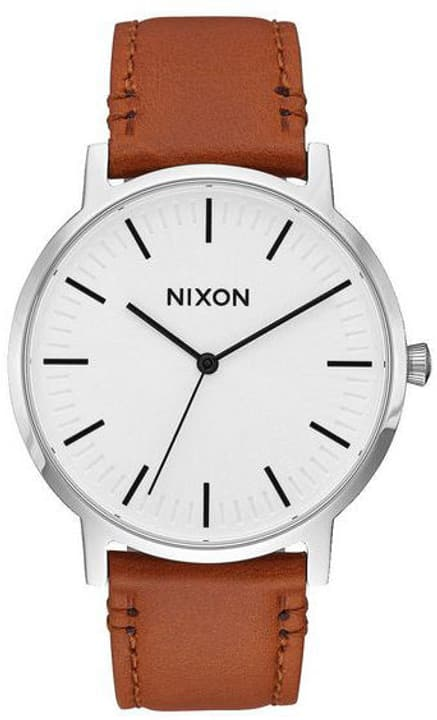 Porter Leather White Sunray Saddle 40 mm Armbanduhr Nixon 785300137046 Bild Nr. 1