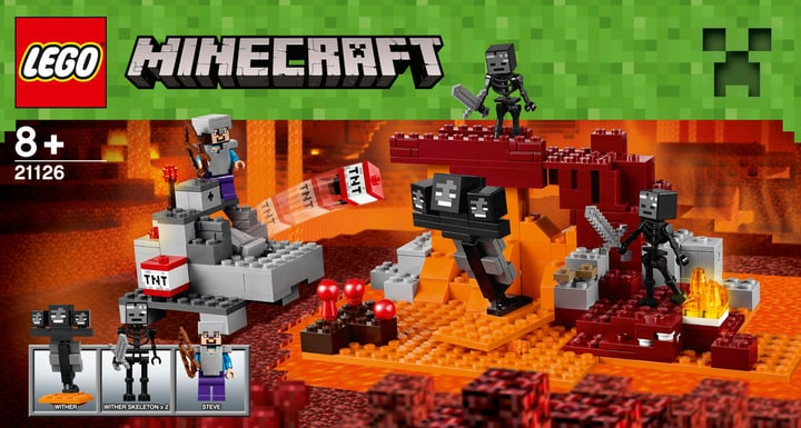 LEGO Minecraft Le Wither 21126 748809800000 Photo no. 1