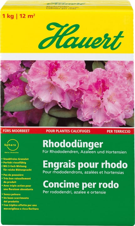 Engrais Rhodo, 1 kg Hauert 658206400000 Photo no. 1