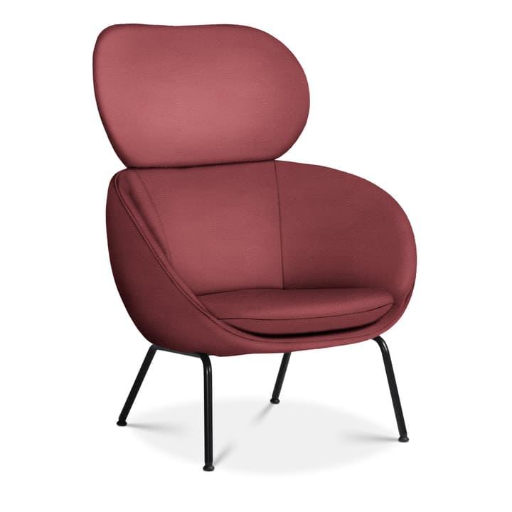 SAPO Poltrona Edition Interio 360441007034 Dimensioni L: 84.0 cm x P: 85.0 cm x A: 110.0 cm Colore Bordò N. figura 1