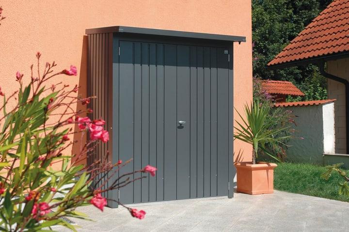 Set porta per scaffale per la legna Wood Stock 150 Biohort 647182400000 Colore Grigio Scuro-Metallico N. figura 1