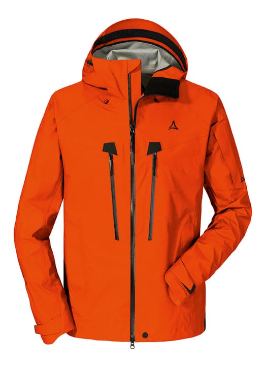 3L Jacket Val d Isere1 Veste pour homme Schöffel 465739905434 Couleur orange Taille 54 Photo no. 1