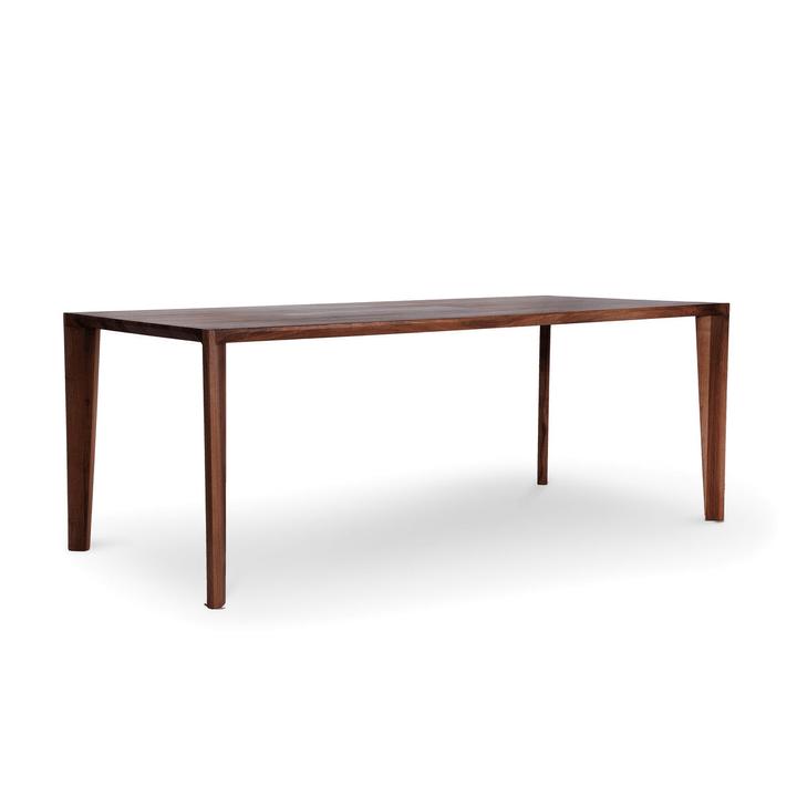 HANNY II Tavolo in legno massiccio 366075300000 Dimensioni L: 200.0 cm x P: 90.0 cm x A: 74.0 cm Colore Noce N. figura 1