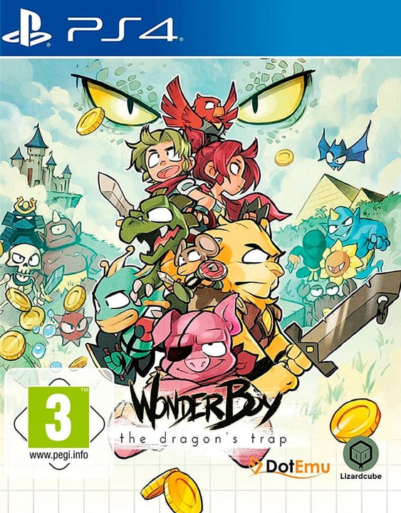 PS4 - Wonder Boy: The Dragon's Trap (D) Physisch (Box) 785300132166 Bild Nr. 1