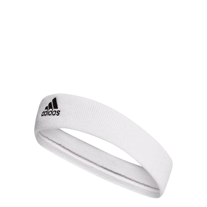 Tennis Headband Bandeau Adidas 473225099910 Couleur blanc Taille one size Photo no. 1