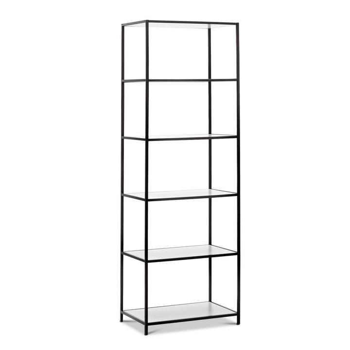 SEVEN Scaffale Edition Interio 360974200000 Dimensioni L: 63.0 cm x P: 38.0 cm x A: 189.0 cm Colore Bianco N. figura 1