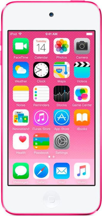 iPod Touch 6G 128GB - Pink Mediaplayer Apple 785300129594 Photo no. 1
