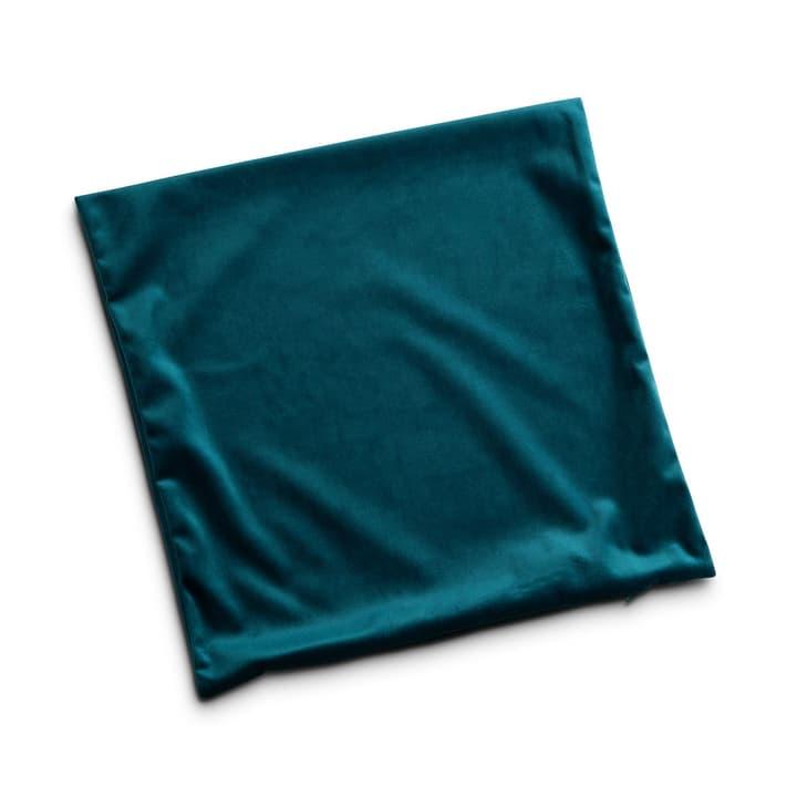 GALANTA Housse de coussin décoratif 378112400000 Dimensions L: 45.0 cm x H: 45.0 cm Couleur Vert émeraude Photo no. 1