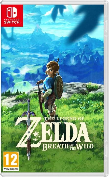 Switch - The Legend of Zelda: Breath of the Wild Box Nintendo 785300121675 Langue Italien Plate-forme Nintendo Switch Photo no. 1