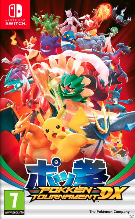 Switch - Pokkén Tournament DX Box 785300128756 Bild Nr. 1