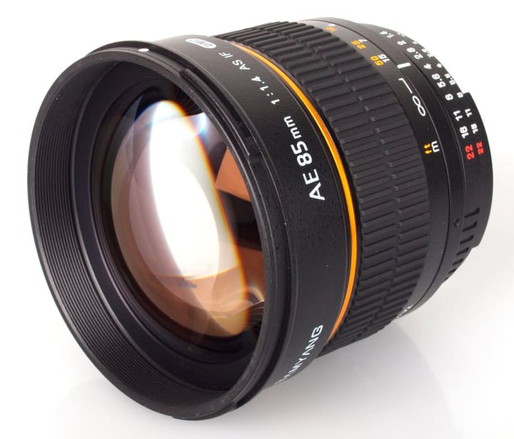 85mm / 1.4 IF Aspherical (Nikon) Obiettivo Obiettivo Samyang 785300125117 N. figura 1