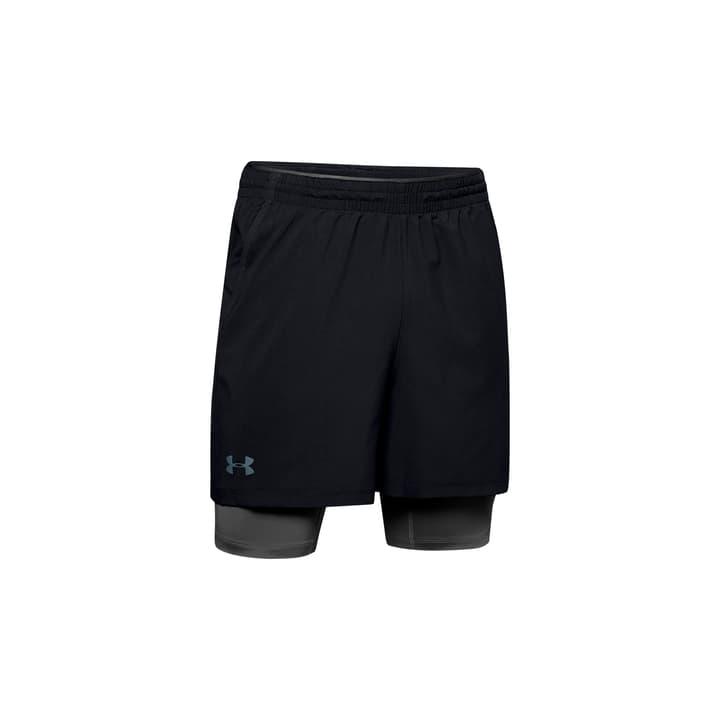 Qualifier 2-in-1 Short Herren-Shorts Under Armour 464978700320 Farbe schwarz Grösse S Bild-Nr. 1
