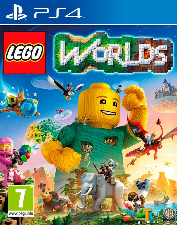 PS4 - LEGO Worlds Box 785300121528 Bild Nr. 1