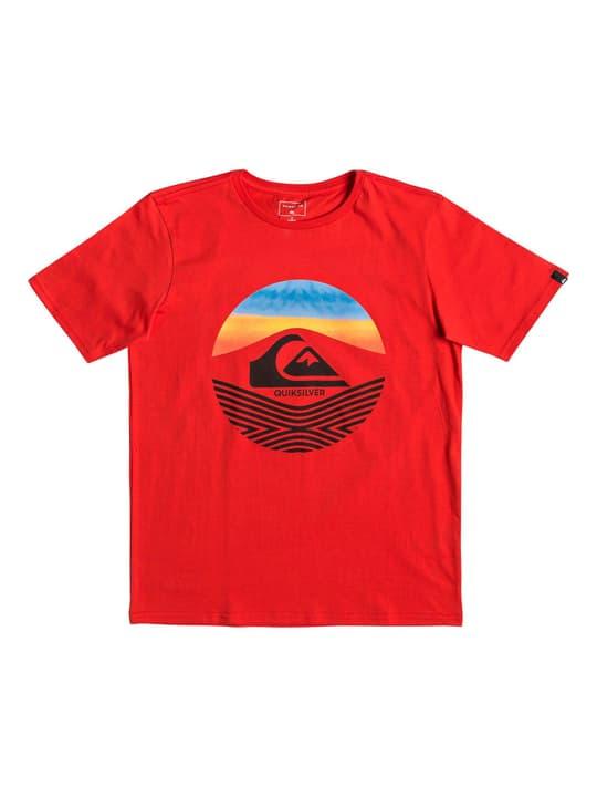 T-shirt pour garçon Quiksilver 466915712830 Couleur rouge Taille 128 Photo no. 1