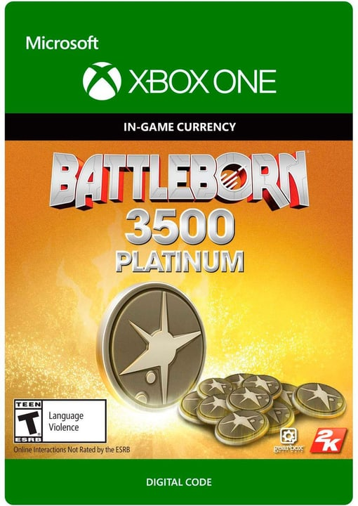 Xbox One - Battleborn: 3500 Platinum Pack Download (ESD) 785300137309 N. figura 1