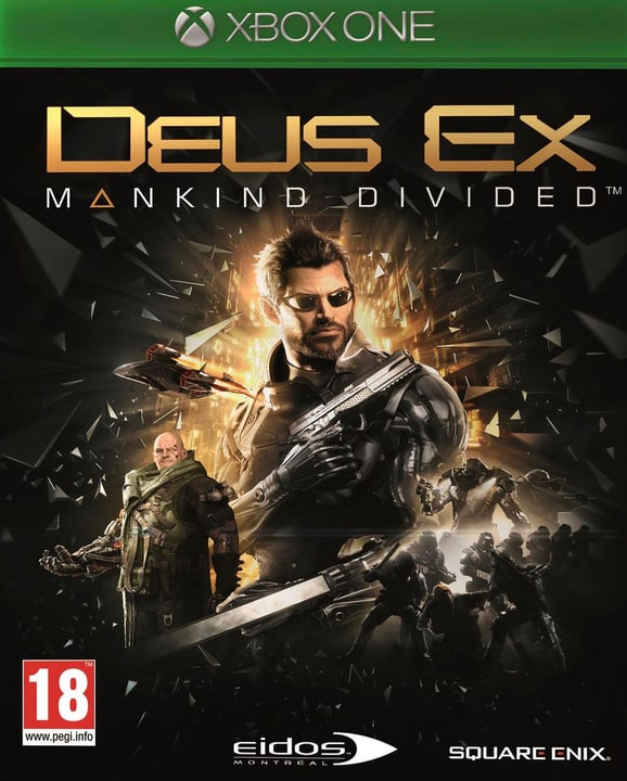 Xbox One - Deus Ex: Mankind Divided (Day One Edition) 785300120721 Photo no. 1