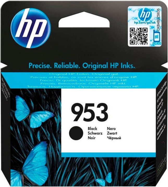 cartuccia d'inchio 953 nero L0S58AE Cartuccia d'inchiostro HP 798537600000 N. figura 1