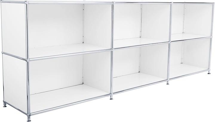 FLEXCUBE Sideboard 401809500010 Grösse B: 227.0 cm x T: 40.0 cm x H: 80.5 cm Farbe Weiss Bild Nr. 1