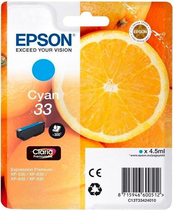 33 Claria Premium cyan Cartouche d'encre Epson 798538000000 Photo no. 1