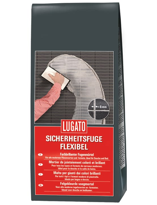 Sicherheitsfuge flexibel grau Lugato 676055400000 Bild Nr. 1