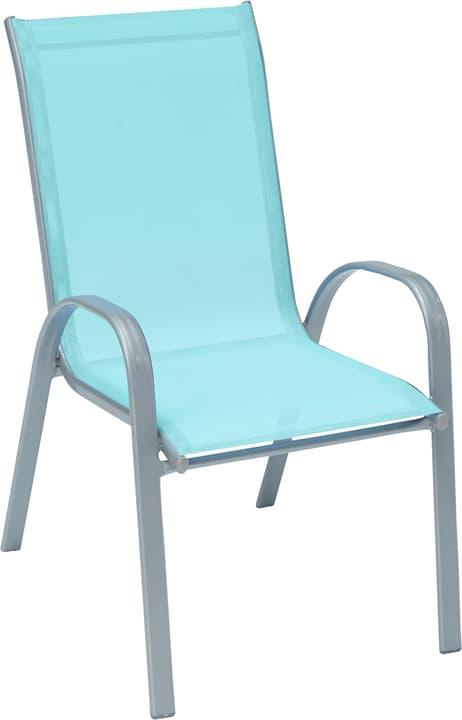 PAG Sedia 408002100060 Dimensioni L: 56.0 cm x P: 74.0 cm x A: 98.0 cm Colore Azzurro N. figura 1