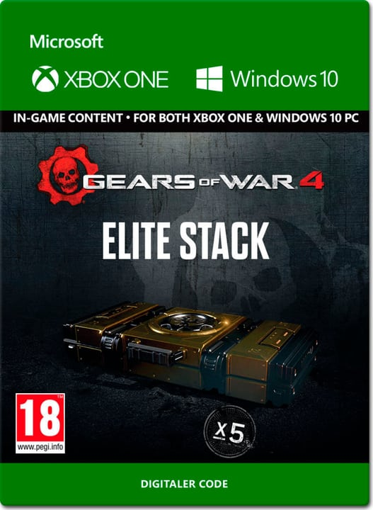 Xbox One - Gears of War 4: Elite Stack Digital (ESD) 785300137328 Photo no. 1