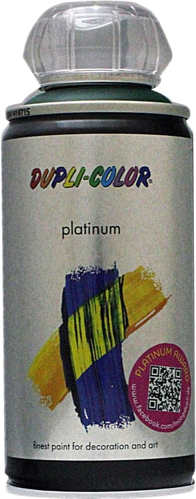Vernice spray Platinum opaco Dupli-Color 660824500000 Colore Verde muschio Contenuto 150.0 ml N. figura 1
