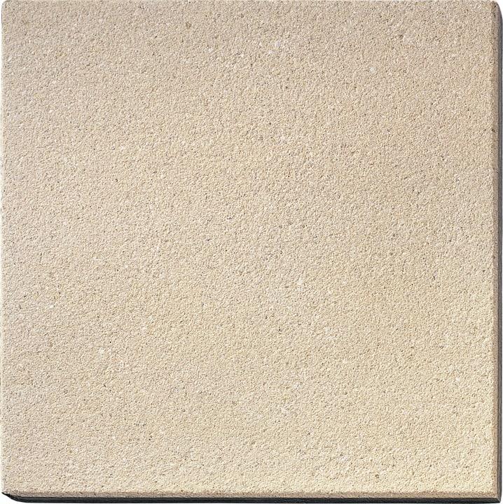Lastra pedonabile sabbiato champagne 50x50cm -  di 56 pezzi 647516700000 N. figura 1