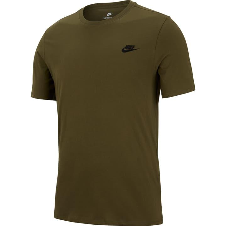 Sportswear Tee T-shirt da uomo Nike 462362200567 Colore oliva Taglie L N. figura 1