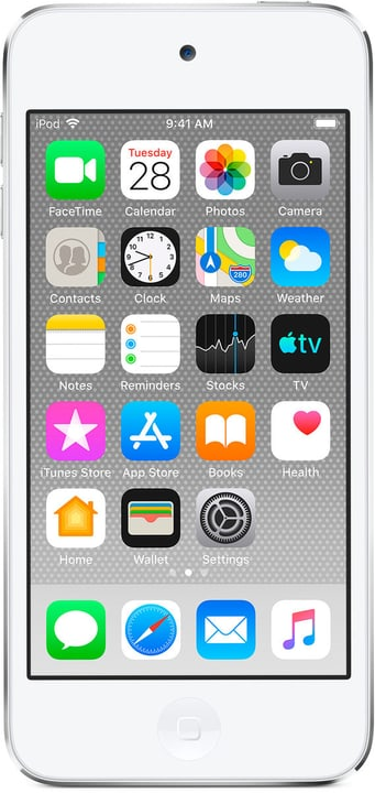 iPod touch 256GB - Argent Mediaplayer Apple 785300144874 Couleur Argent Photo no. 1