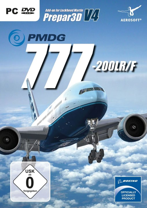 PC - PMDG 777-200 V4 (D) Fisico (Box) 785300131829 N. figura 1