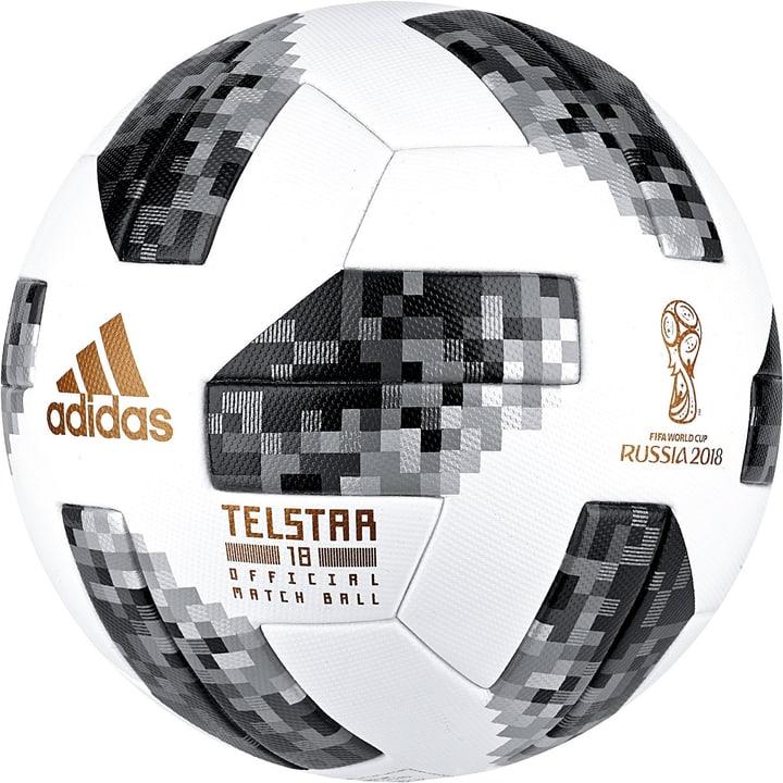 "World Cup OMB ""Telstar"" Ballon de football Adidas 461930200510 Couleur blanc Taille 5 Photo no. 1"