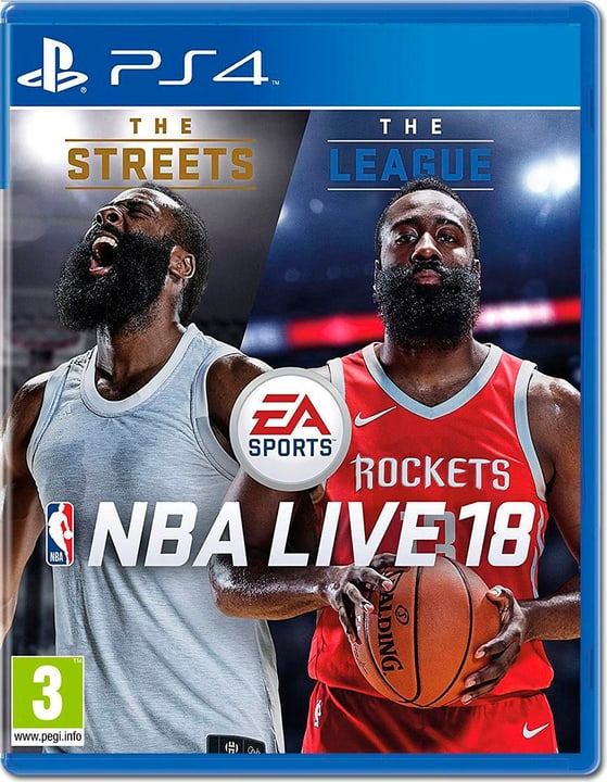 PS4 - NBA Live 18: The One Edition Box 785300129727 N. figura 1