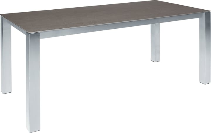 KANO céramique Table 753185300082 Taille L: 220.0 cm x L: 90.0 cm x H: 74.0 cm Couleur Basalt Photo no. 1