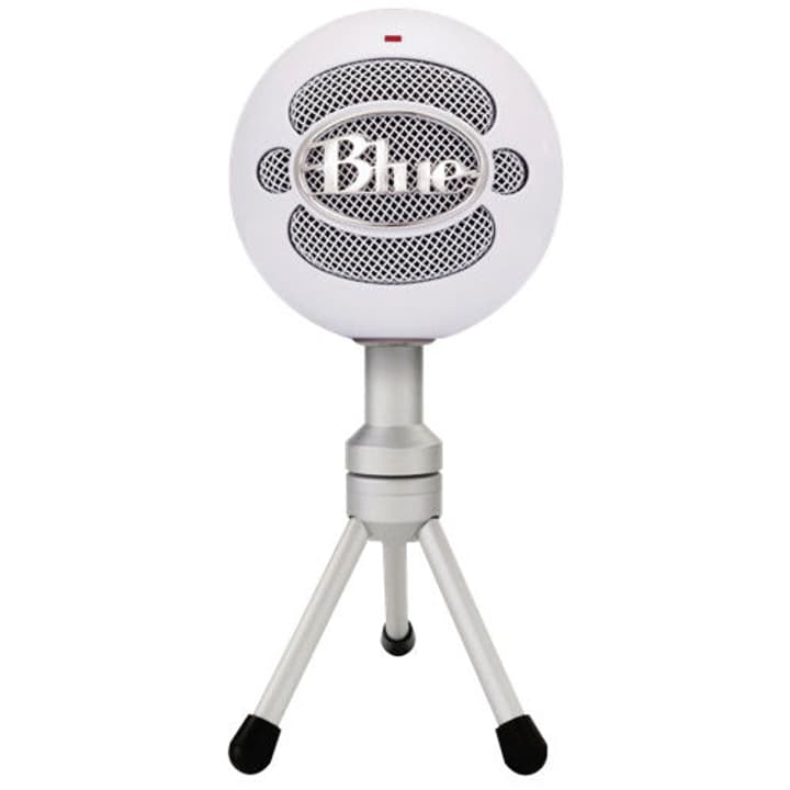 Snowball Microphone iCE USB white versatile Mikrofon Blue 785300139726 Bild Nr. 1