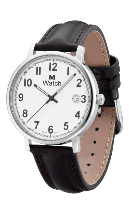 DAILY TIME schwarz Armbanduhr Montre M Watch 760716600000 Photo no. 1
