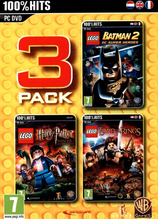 PC - LEGO Pack 3 (Batman 2 + Harry Potter + Lord of the Rings) Box 785300121717 N. figura 1