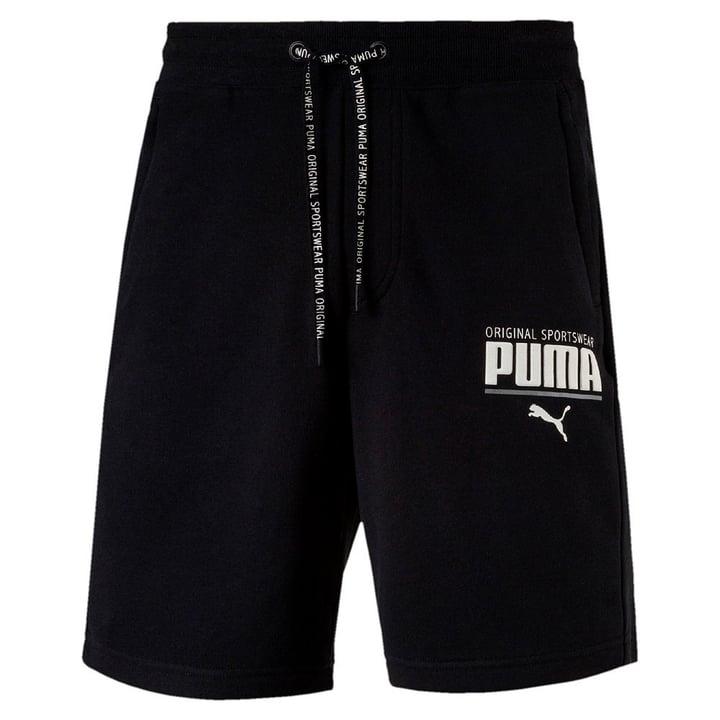 STYLE Athletic Sweat Shorts Short pour homme Puma 462388600420 Couleur noir Taille M Photo no. 1