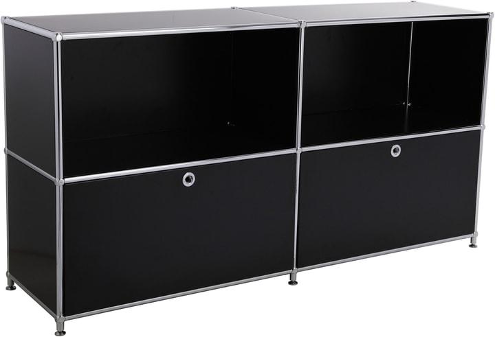 FLEXCUBE Buffet 401814020220 Dimensions L: 152.5 cm x P: 40.0 cm x H: 80.5 cm Couleur Noir Photo no. 1