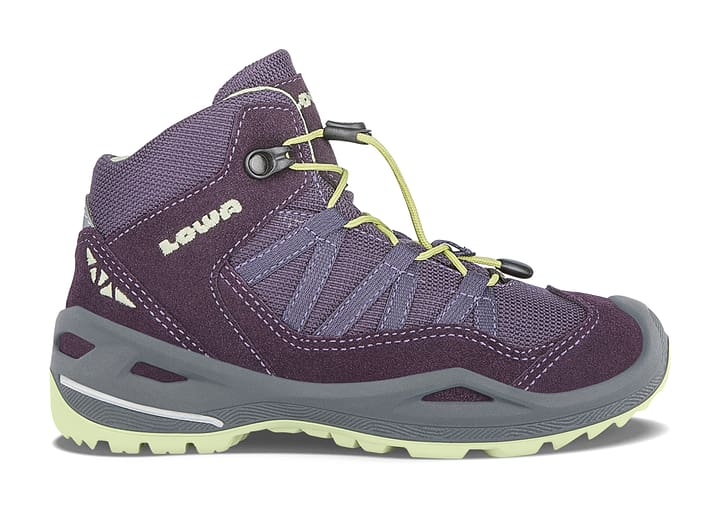 Robin GTX Qc Chaussures de randonnée pour enfant Lowa 465516938049 Couleur violet foncé Taille 38 Photo no. 1